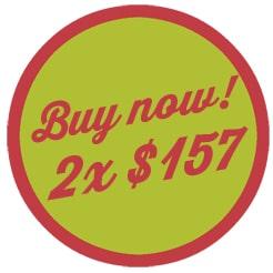 Buy now 2x$157