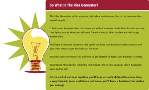What is the Idea Generator