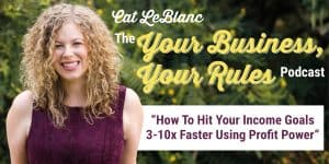 How To Hit Your Income Goals 3-10x Faster Using Profit Power